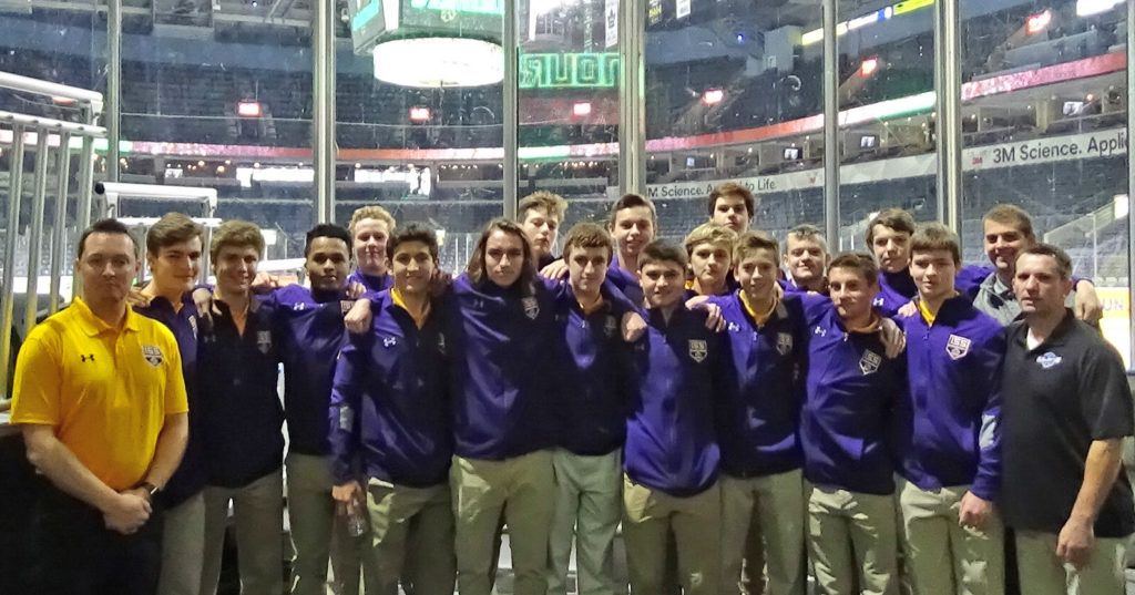 Kings on tour at OHL London Knights Arena during Wendy Dufton Memorial